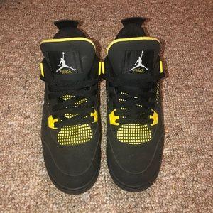 13d6e7012d7f5b Women s Black And Yellow Jordans on Poshmark